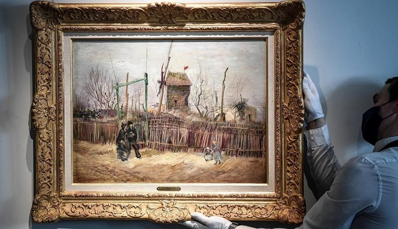لوحة نادرة للفنان العالمي فان جوخ تحقق  15 مليون دولار في مزاد بباريس